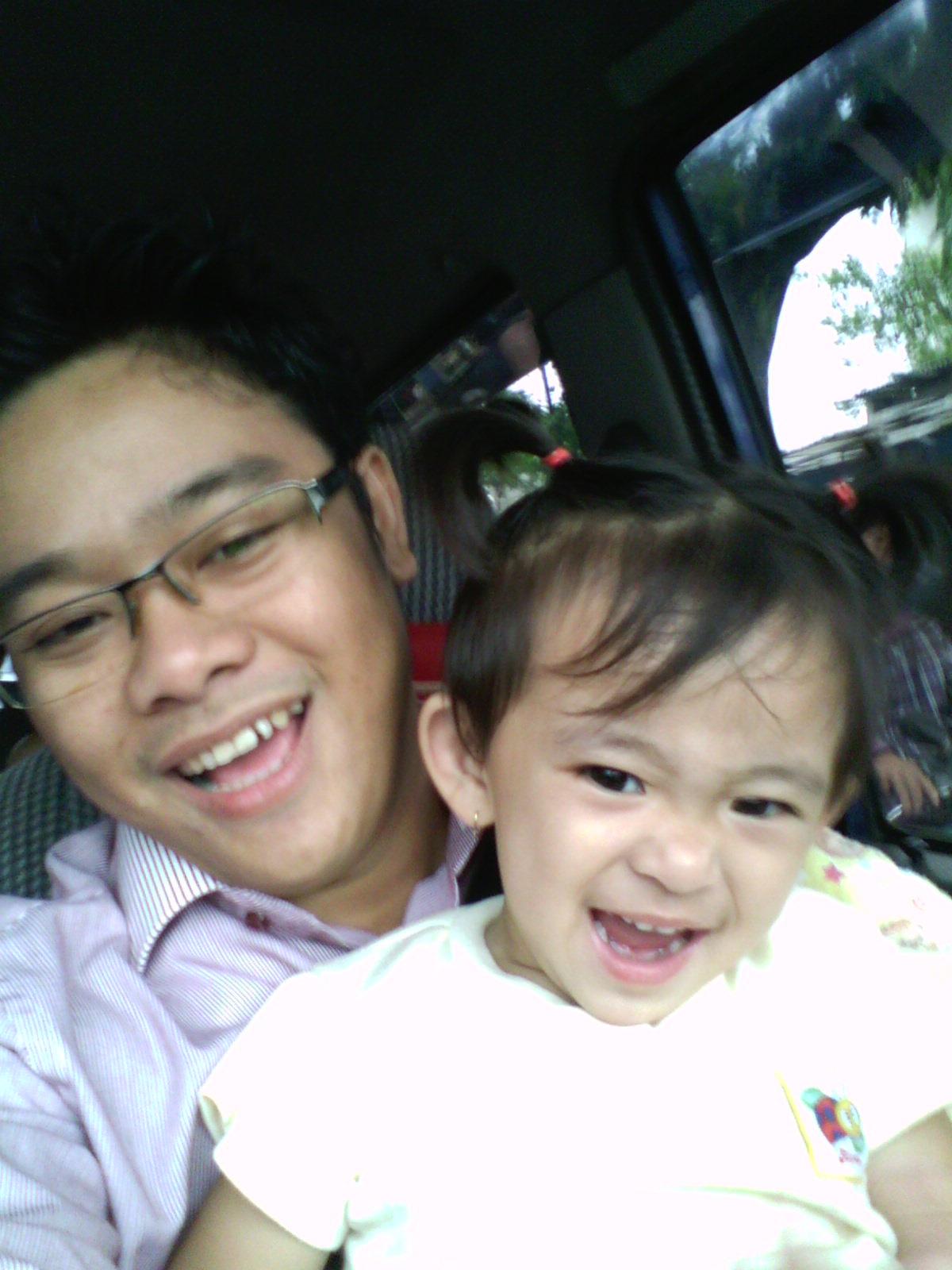 parenting selfie dengan si kecil
